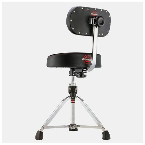 Image 2 - Gibraltar 9608MB Moto Drum Throne with Back Rest