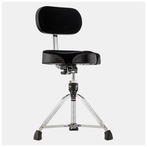 Image 1 - Gibraltar 9608MB Moto Drum Throne with Back Rest