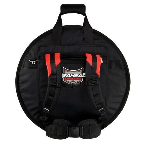 Image 2 - Ahead Armor AR6023RS Deluxe Cymbal Case with Ruck Straps