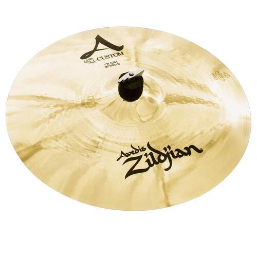 Zildjian A Custom Brilliant Crash Cymbals