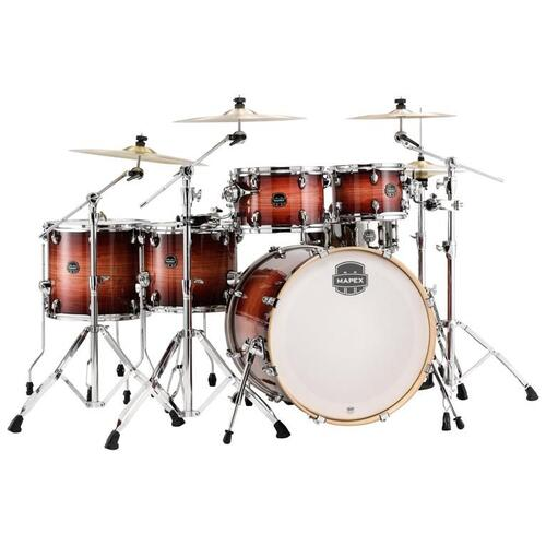 Image 3 - Mapex Armory Fast Fusion Drum Kit 10x7, 12x8, 14x12, 16x14 22x18 bassdrum with Tomahawk Snare