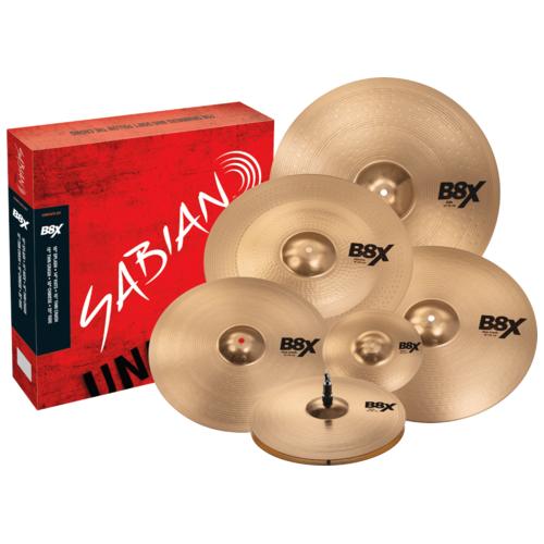 Sabian B8X Complete Cymbal Box Set