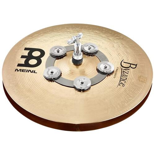 """Image 2 - Meinl Ching Ring 6"""", Stainless Steel Jingles"""