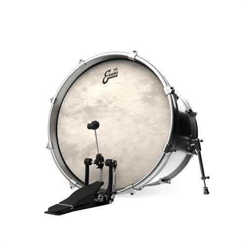 Image 2 - Evans 56 Calftone Bass Drum Heads