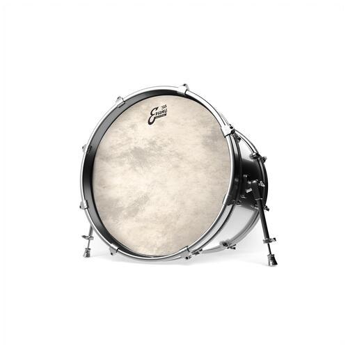 Image 3 - Evans 56 Calftone Bass Drum Heads