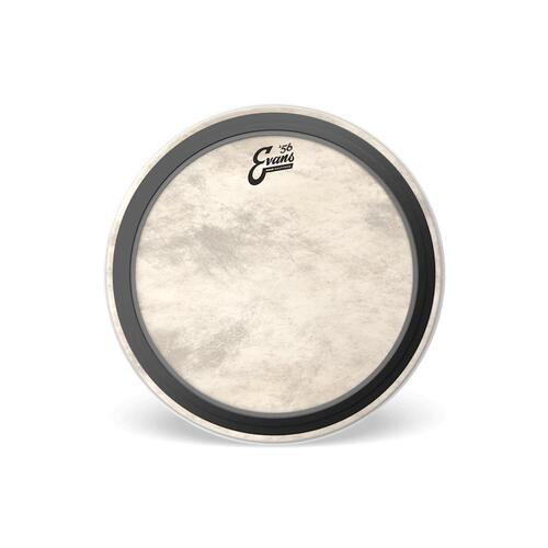 Evans 56 Calftone EMAD Bass Drum Heads