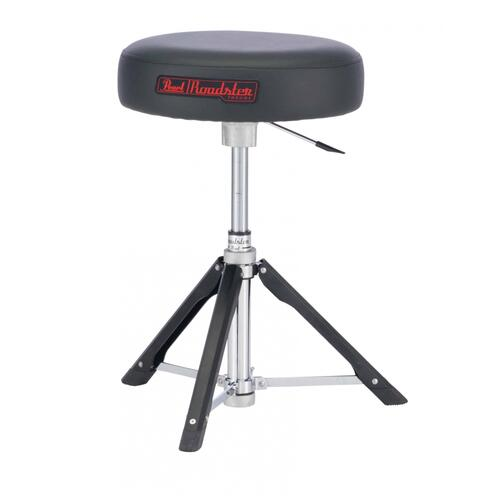Pearl D-1500RGL Roadster Drum Throne - Lightweight Gas Lift Throne - Round Top