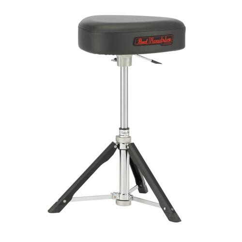 Pearl D-1500TGL Roadster Drum Throne - Lightweight Gas Lift Throne - Trilateral Top