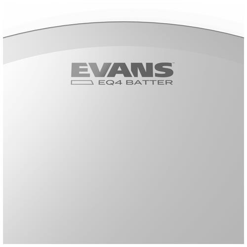 Image 3 - Evans EQ4 Frosted Bass Drum Heads