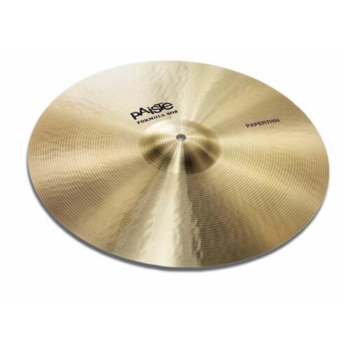 Paiste Formula 602 Paperthin Crash Cymbals