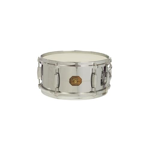 "Gretsch G4168 13"" x 6"" Chrome Over Brass G-4000 Series Snare Drum"