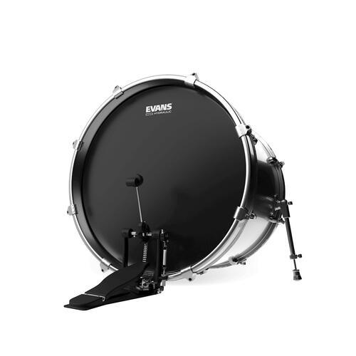 "Image 2 - Evans Hydraulic Black 22"" Bass Drum Head"