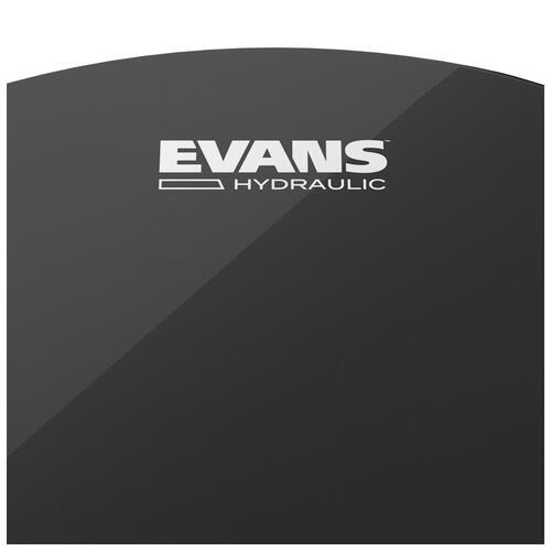"Image 3 - Evans Hydraulic Black 22"" Bass Drum Head"
