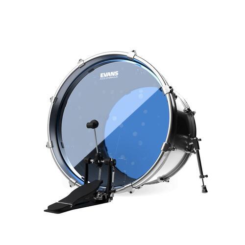 Image 2 - Evans Hydraulic Blue Bass Drum Heads