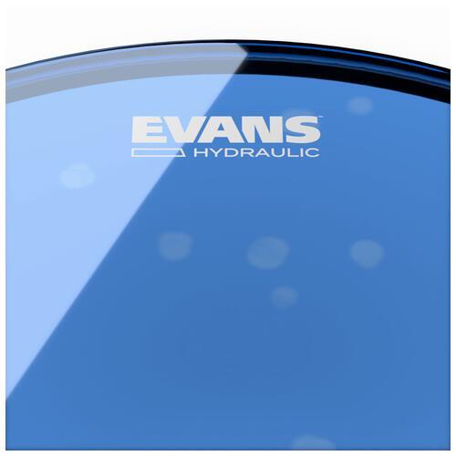 Image 3 - Evans Hydraulic Blue Bass Drum Heads