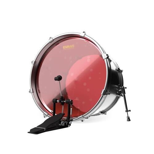 Image 2 - Evans Hydraulic Red Bass Drum Heads