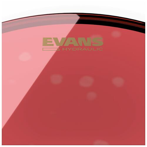 Image 3 - Evans Hydraulic Red Bass Drum Heads