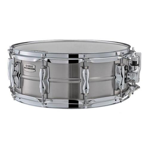 "Yamaha RLS1455 Recording Custom 14"" x 5.5"" Stainless Steel Snare Drum Recording Custom"