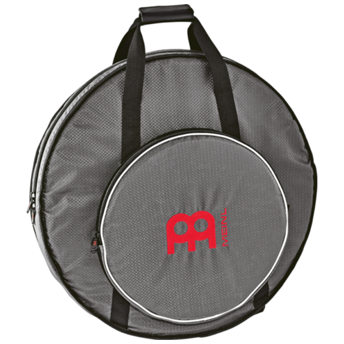 "Meinl Ripstop 22"" Cymbal Backpack, Carbon Grey, Red Logo - MCB22RS"