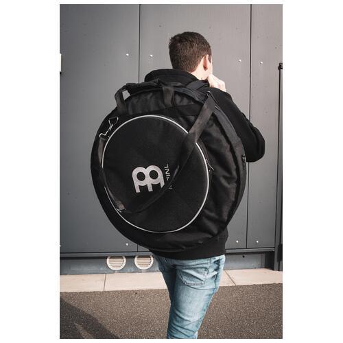 "Image 3 - Meinl Professional 22"" Cymbal Backpack, Black (MCB22-BP)"
