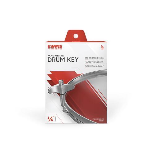 Image 2 - Evans Drum Magnetic Head Drum Key