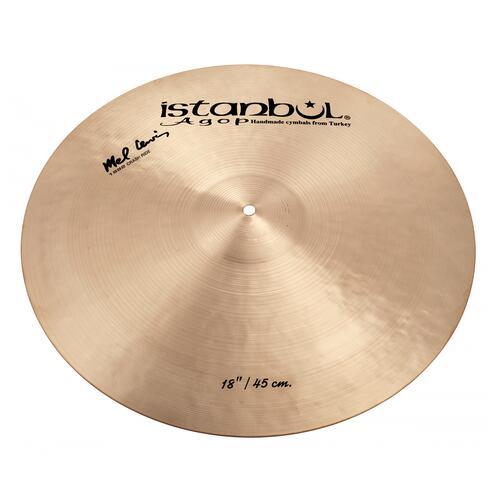 """Image 2 - Istanbul Agop Signature Mel Lewis 18"""" 1982 Crash Cymbal"""