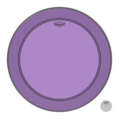 Remo Powerstroke 3 Colortone Purple Bass Drum Heads