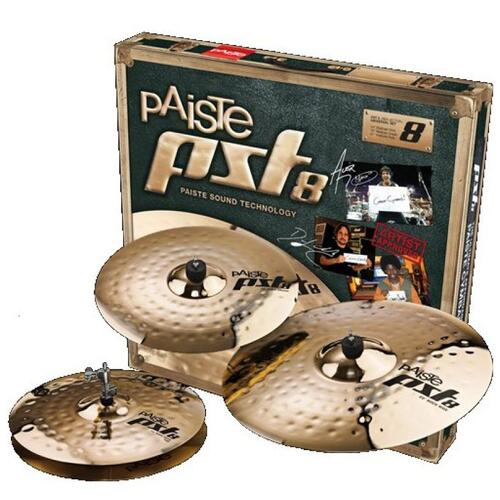 Paiste PST8 Rock Cymbal Set