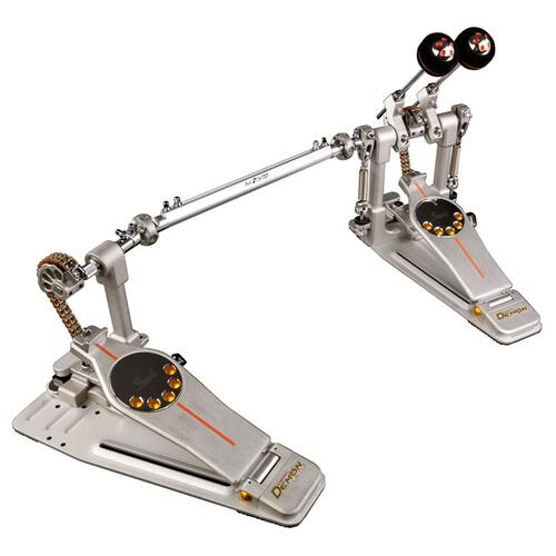 Pearl P-3002C Eliminator Demon Chain Drive Twin Bass Drum Pedals