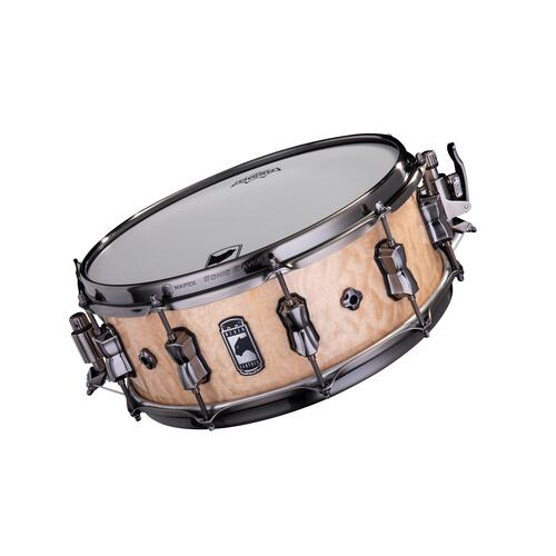"Image 3 - Mapex Black Panther 14"" PEGASUS Maple / Walnut Snare Drum BPNMW4550LXN"
