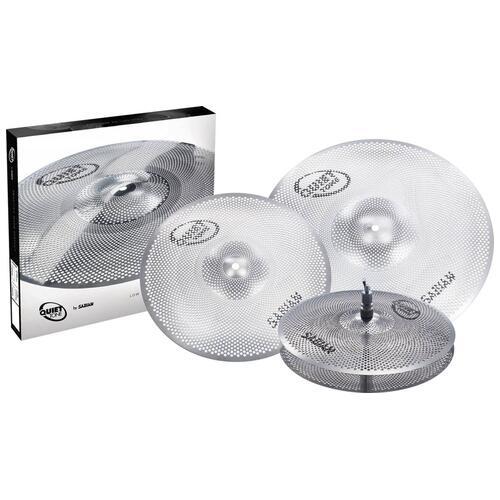 Sabian Quiet Tone Practice Cymbal Set, 14'' - 16'' - 20''
