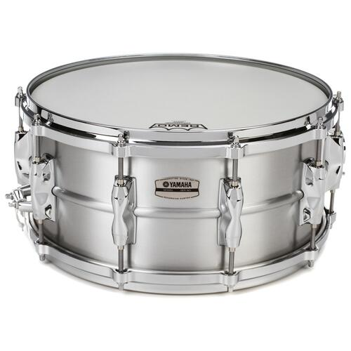 "Yamaha Recording Custom 14"" x 6.5"" Aluminum Snare Drum - RAS1465"