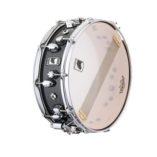 "Image 4 - Mapex Black Panther 14""x5"" Razor Maple Snare Drum BPNML4500CGD"