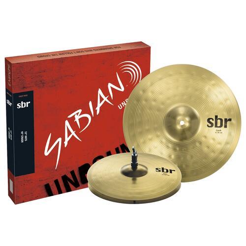 Sabian SBR Cymbal First Pack, 13'' Hihats, 16'' Crash Cymbals