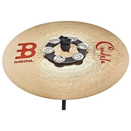 """Image 2 - Meinl Soft Ching Ring 6"""", Stainless Steel Jingles"""