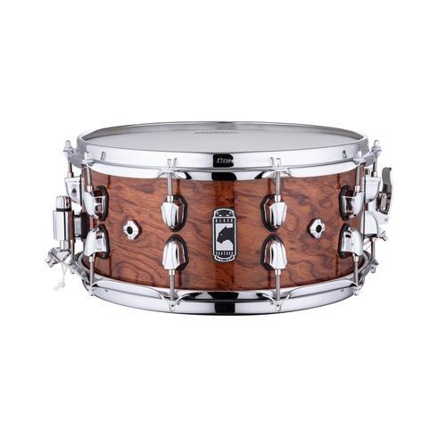 "Image 2 - Mapex Black Panther 14"" SHADOW Birch / Walnut Snare Drum BPNBW4650CXN"