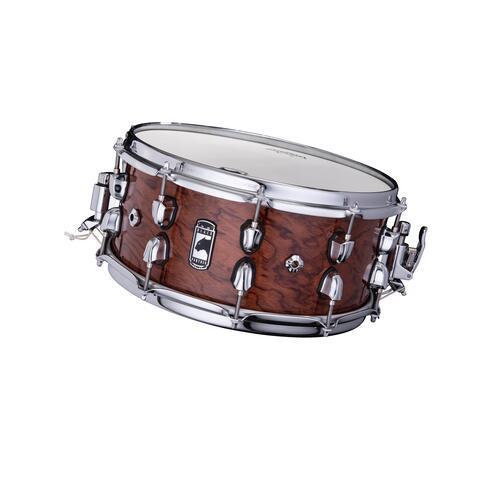 "Image 3 - Mapex Black Panther 14"" SHADOW Birch / Walnut Snare Drum BPNBW4650CXN"