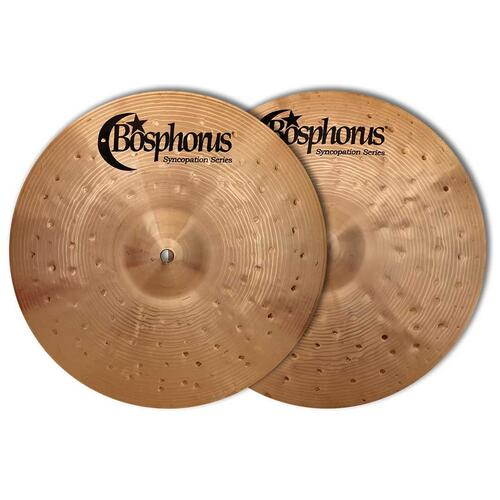 Bosphorus Syncopation Series Hi Hat Cymbals Pair