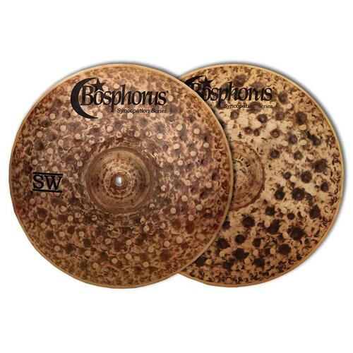 Bosphorus Syncopation SW Series Hi Hat Cymbals Pair