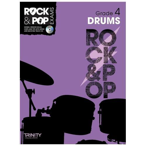 Trinity College London: Rock & Pop Drums - Grade 4