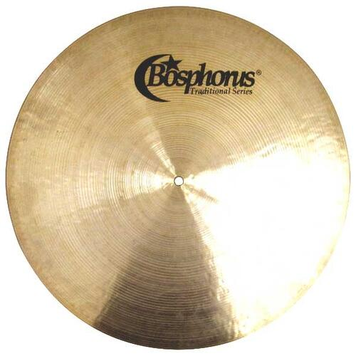 Bosphorus Traditional Flat Ride Cymbals