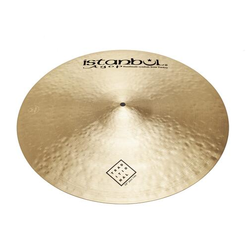 """Istanbul Agop 20"""" Traditional Jazz Ride"""