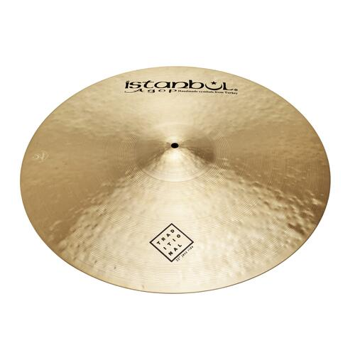 """Image 3 - Istanbul Agop 22"""" Traditional Jazz Ride"""