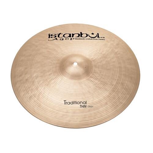 Istanbul Agop - Traditional Thin Crash Cymbals