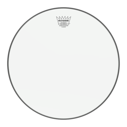 Remo Ambassador Classic Fit Clear Drum Heads