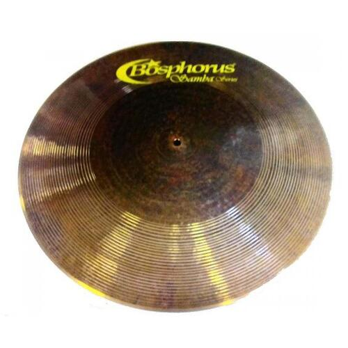 "Bosphorus Samba Series 21"" Flat Ride Cymbal"