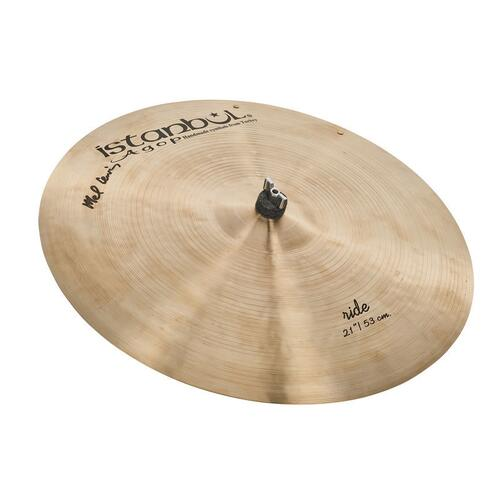 "Istanbul Agop - Mel Lewis Signature Series 21"" Ride with rivets"