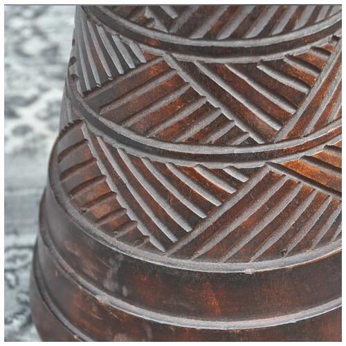 """Image 3 - Powerful Drums 13"""" Premium Djembe With Weaving"""