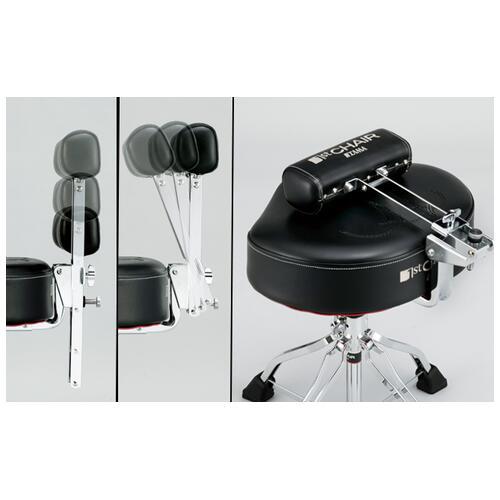 Image 4 - Tama 1st Chair Ergo-Rider Quartet with Backrest (HT741B)