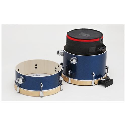 Image 3 - Tama Club Jam Suitcase Kit Shell Pack - Indigo Sparkle
